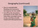 geography continued1