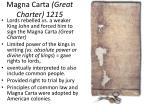 magna carta great charter 1215