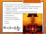 mahayana practices