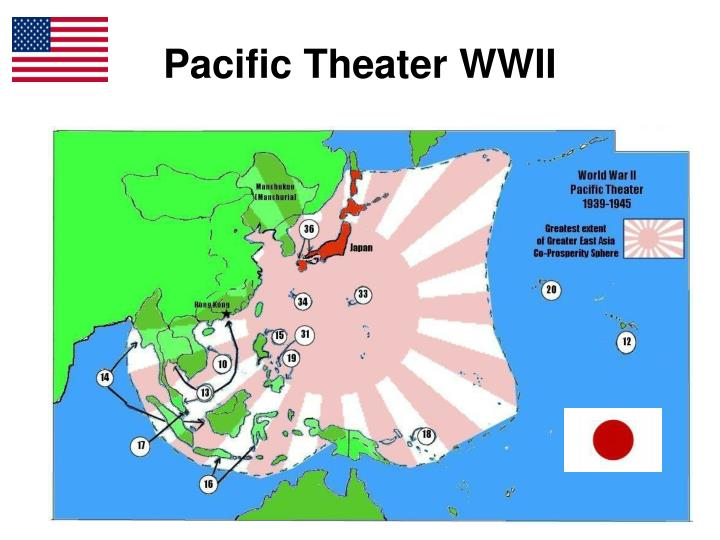 pacific theater wwii n.