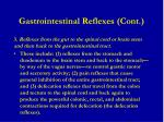 gastrointestinal reflexes cont1