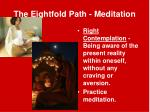 the eightfold path meditation2