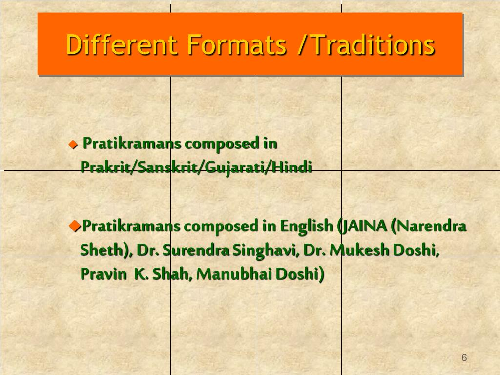 PPT - Analysis and Meaning of Samvatsari Pratikraman