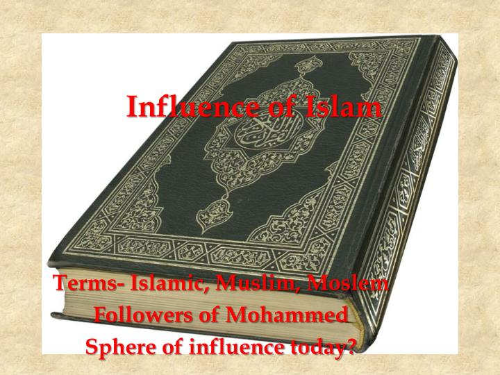 influence of islam n.