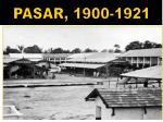 pasar 1900 1921