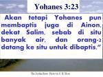 yohanes 3 23