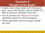 converts people of the book