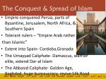the conquest spread of islam