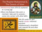 the prophet muhammad the genesis of islam