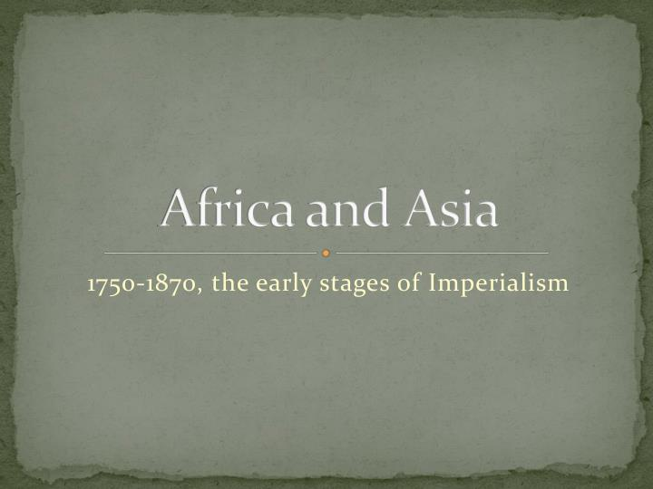 africa and asia n.
