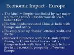 economic impact europe