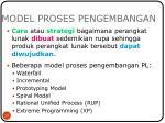 model proses pengembangan