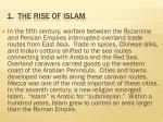 1 the rise of islam