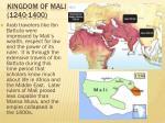 kingdom of mali 1240 14003