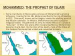 mohammed the prophet of islam2