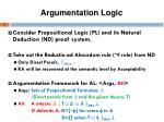 argumentation logic