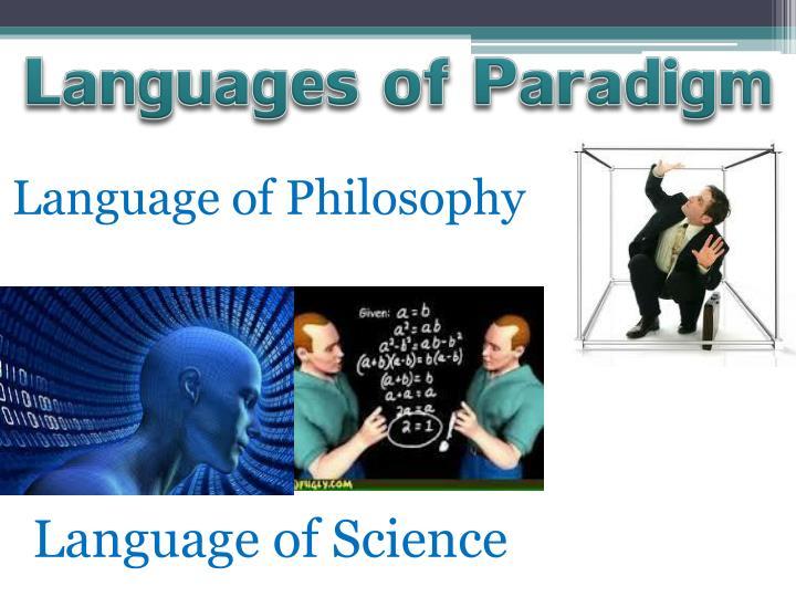 Languages of Paradigm