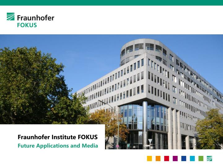 fraunhofer institute fokus n.