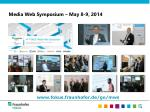 media web symposium may 8 9 2014