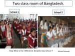 two class room of bangladesh