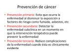 prevenci n de c ncer