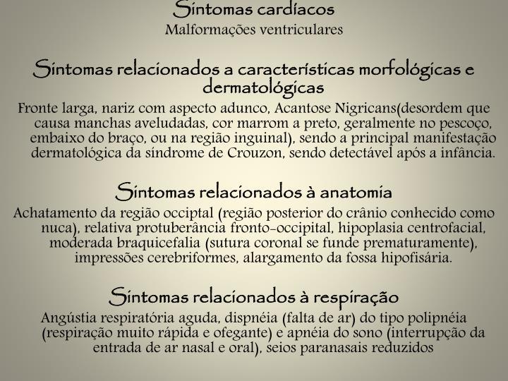 Sintomas cardíacos