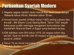 perbankan syariah modern