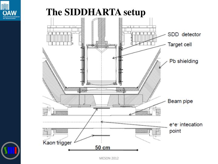 The SIDDHARTA setup