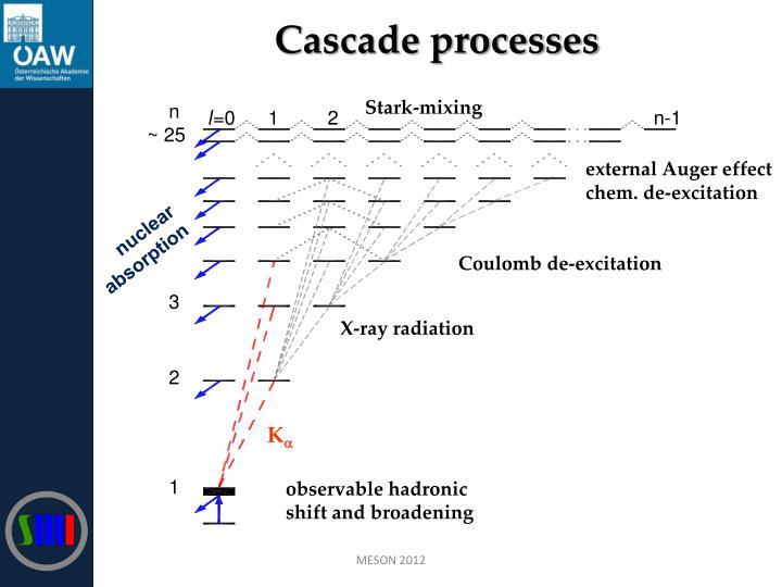 Cascade processes
