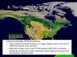 a the geography of north america1