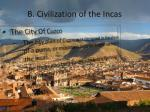 b civilization of the incas2