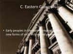 c eastern groups