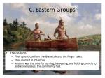 c eastern groups2