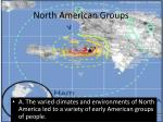 north american groups