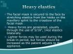 heavy elastics