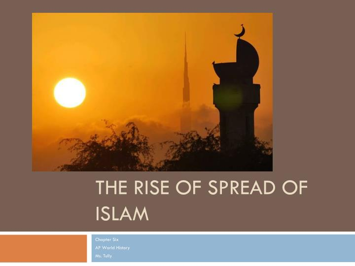 the rise of spread of islam n.