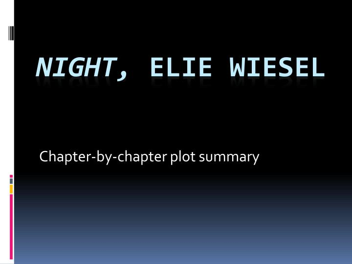 chapter by chapter plot summary n.