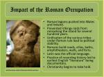 impact of the roman occupation