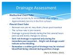 drainage assessment