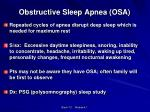 obstructive sleep apnea osa1