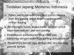 tindakan jepang memeras indonesia1