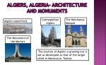 algiers algeria architecture and monuments