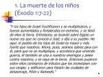 1 la muerte de los ni os xodo 1 7 221