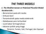 the three models
