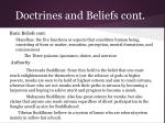 doctrines and beliefs cont1