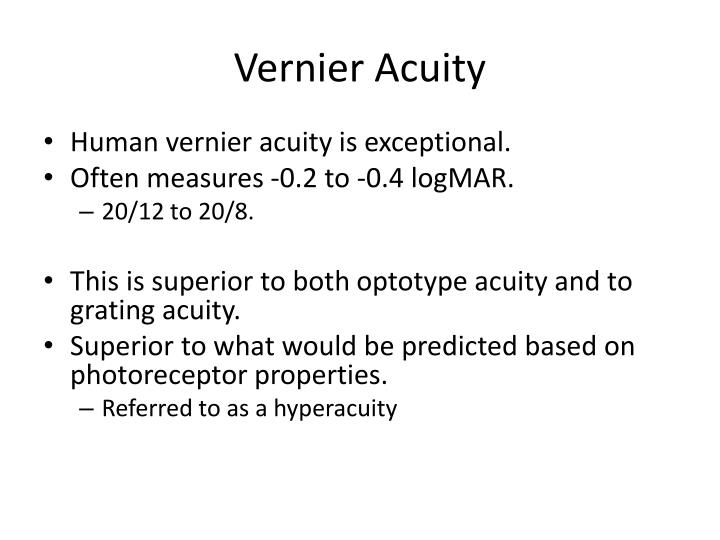 Vernier acuity1