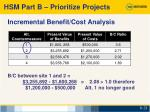 incremental benefit cost analysis