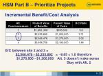 incremental benefit cost analysis1
