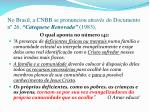 no brasil a cnbb se pronunciou atrav s do documento n 26 catequese renovada 1983