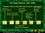 the anglo saxons 449 1066
